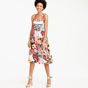JCrew Midi Sundress in Magnificent Floral